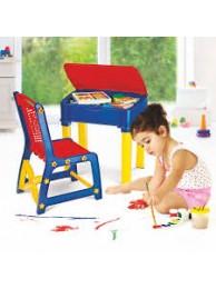 NILKAMAL-KIDS-APPLE-CHAIR-DESK-SET-BLUE-RED