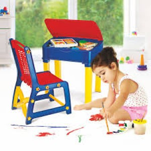 NILKAMAL-KIDS-APPLE-CHAIR-DESK-SET-BLUE-RED
