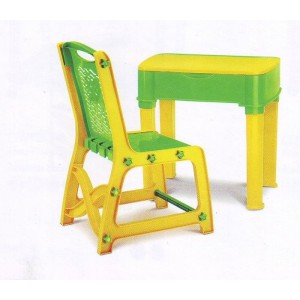 NILKAMAL-KIDS-APPLE-CHAIR-DESK-SET-YELLOW-GREEN