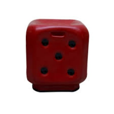 DICE STOOL-MEHROON COLOUR